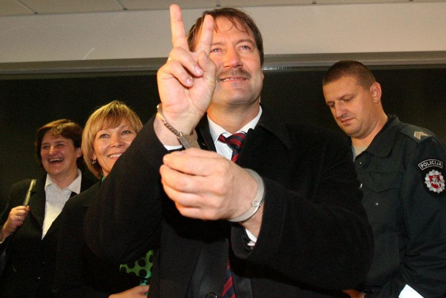 V.Uspaskicho sutiktuvės Lietuvoje