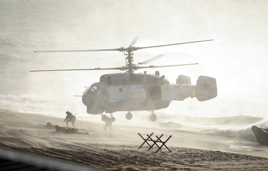 Karinės Rusijos ir Baltarusijos pratybos