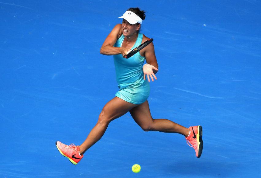 """Serena Williams nugalėjo Barborą Strycovą ir žengė į """"Australian Open"""" ketvirtfinalį"""