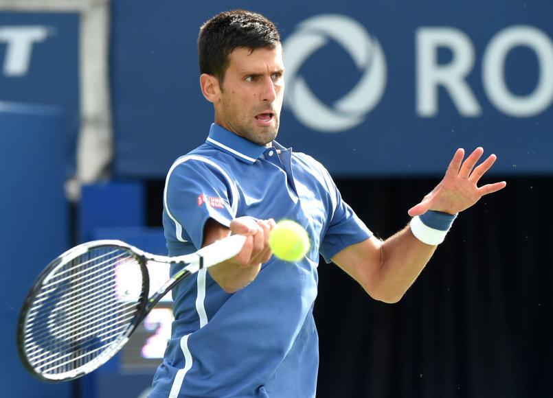 """Novakas Džokovičius Toronte iškovojo 30-ą """"Masters"""" serijos titulą"""