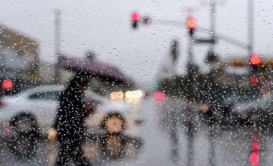 Lietus Kalifornijoje