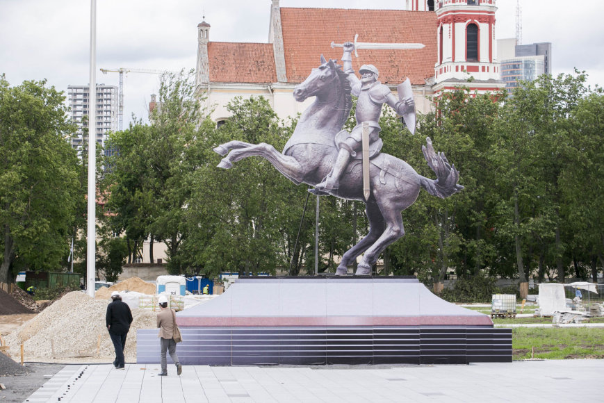 Vytis Lukiškių aikštėje