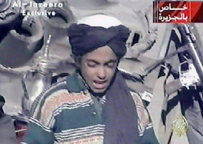 Osamos bin Ladeno sūnus Hamza