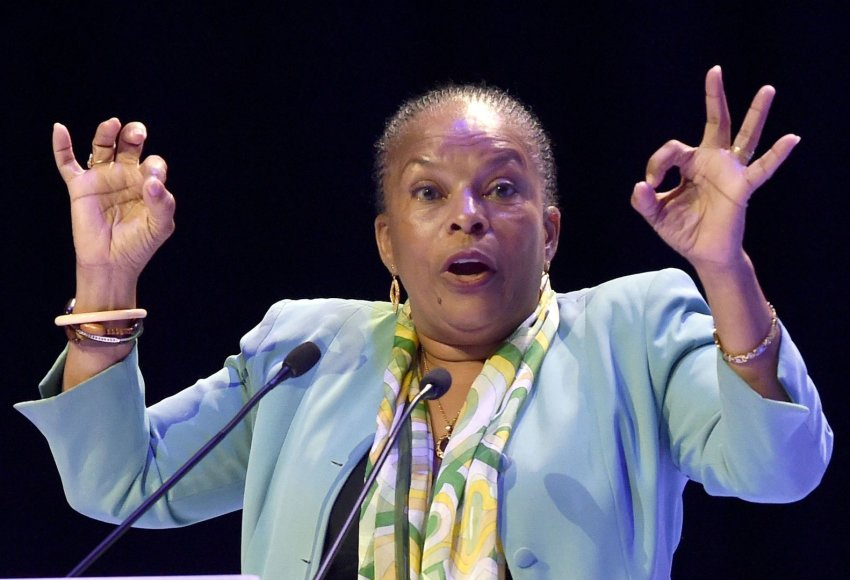 Prancūzijos teisingumo ministrė Christiane Taubira