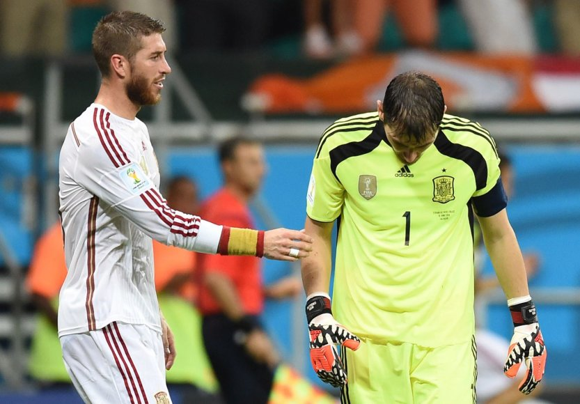 Sergio Ramosas ir Ikeras Casillas