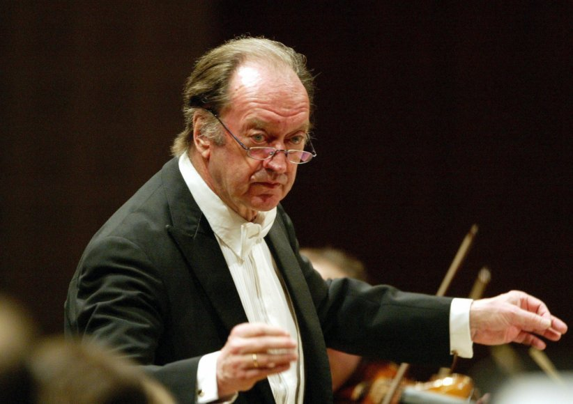 Dirigentas Nikolaus Harnoncourt'as
