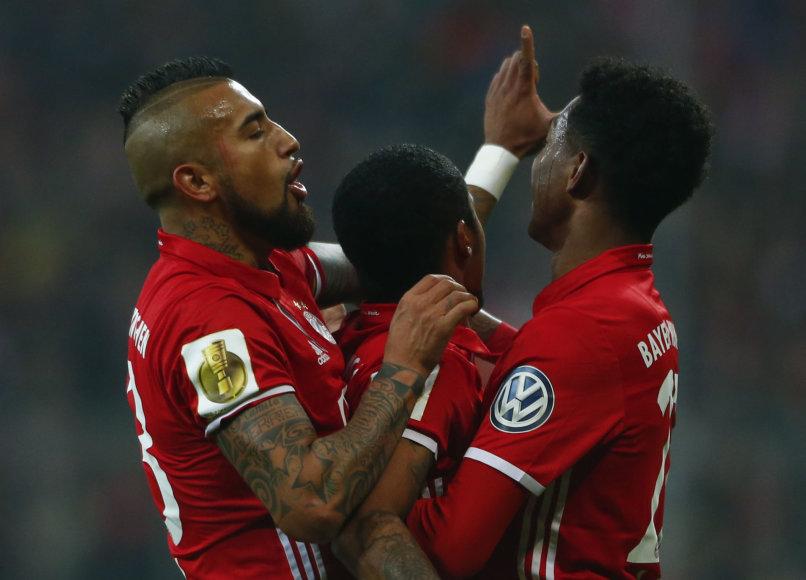 """Reuters""/""Scanpix"" nuotr./Miuncheno ""Bayern"" futbolininkai"