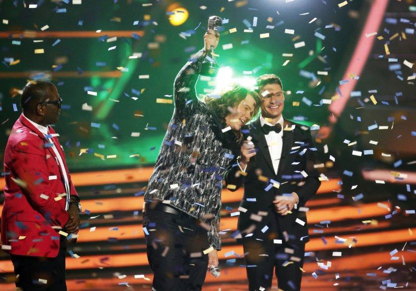 """""""American Idol"""" nugalėtojas Calebas Johnsonas"""