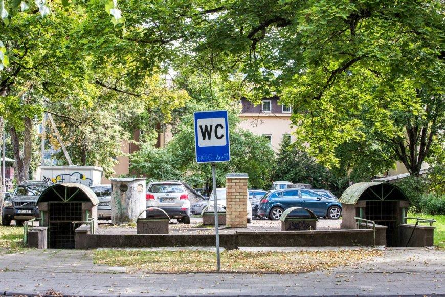 Viešasis tualetas ir slėptuvė Vilniaus Žvėryno rajone