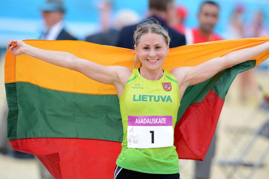 Laura Asadauskaitė – Londono olimpinė čempionė