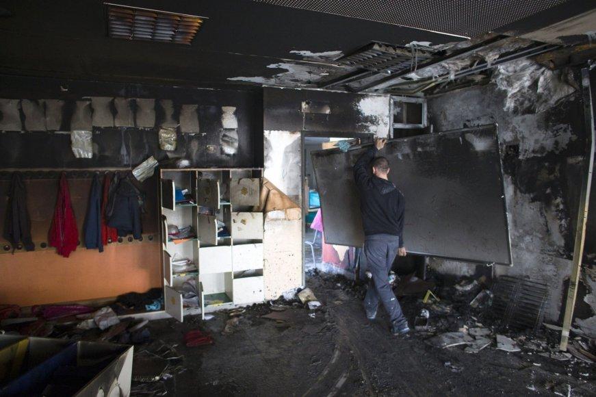 Padegta mokykla Jeruzalėje