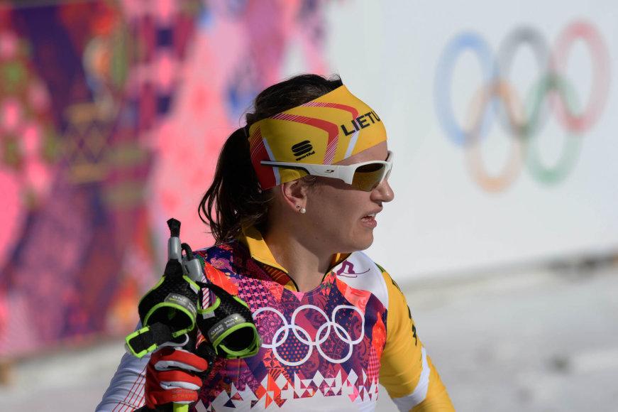 Slidininkė Ingrida Ardišauskaitė Sočio olimpiadoje nėra tarp lyderių
