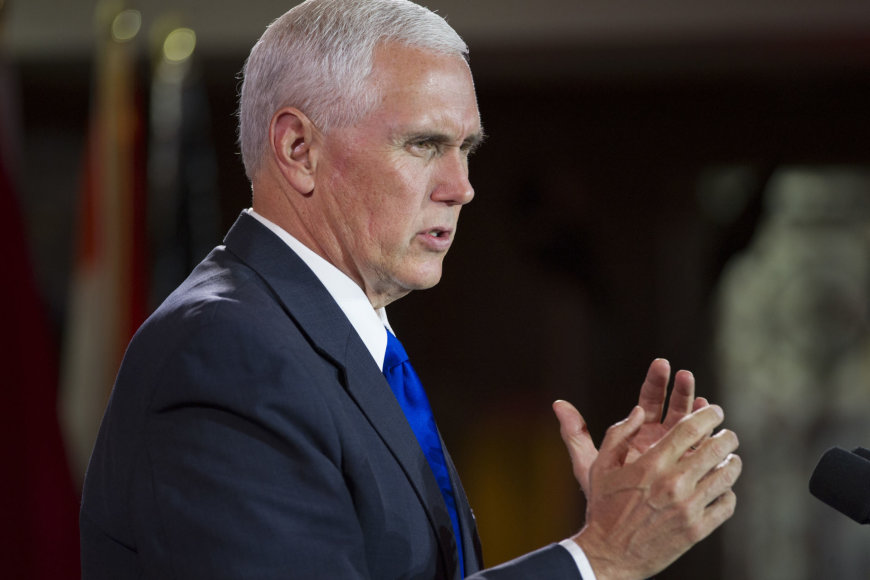 Mike'as Pence'as