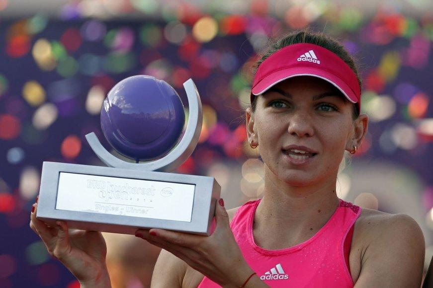 Simona Halep laimėjo jau aštuntą titulą karjeroje