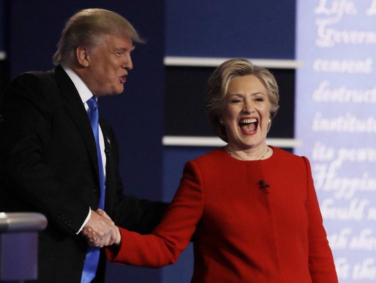 H.Clinton ir D.Trumpo debatai