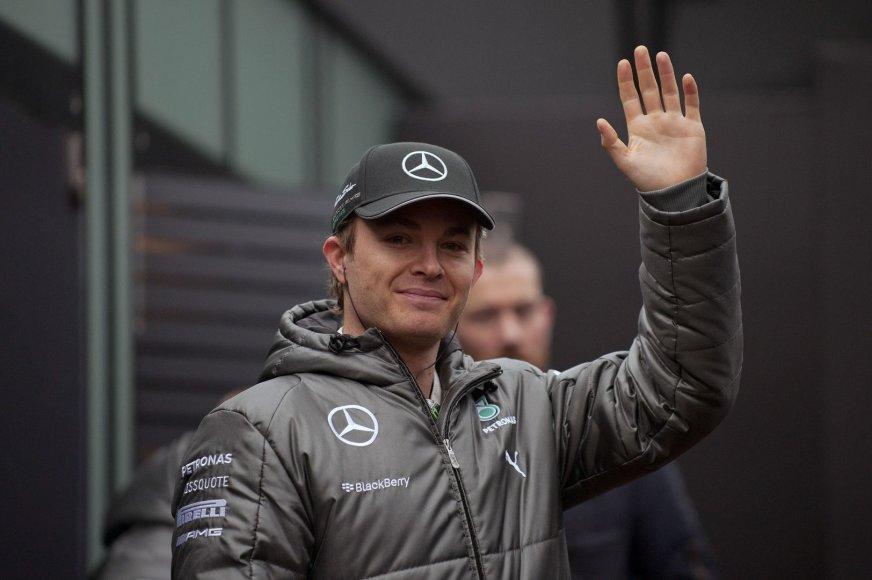 "Nico Rosbergas, ""Mercedes GP"""
