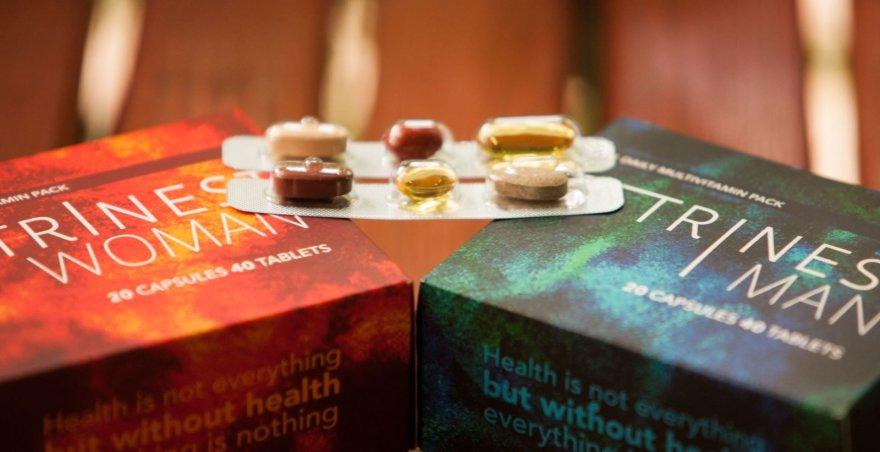 """""""Trinest"""" gaminami vitaminai vyrams ir moterims"""