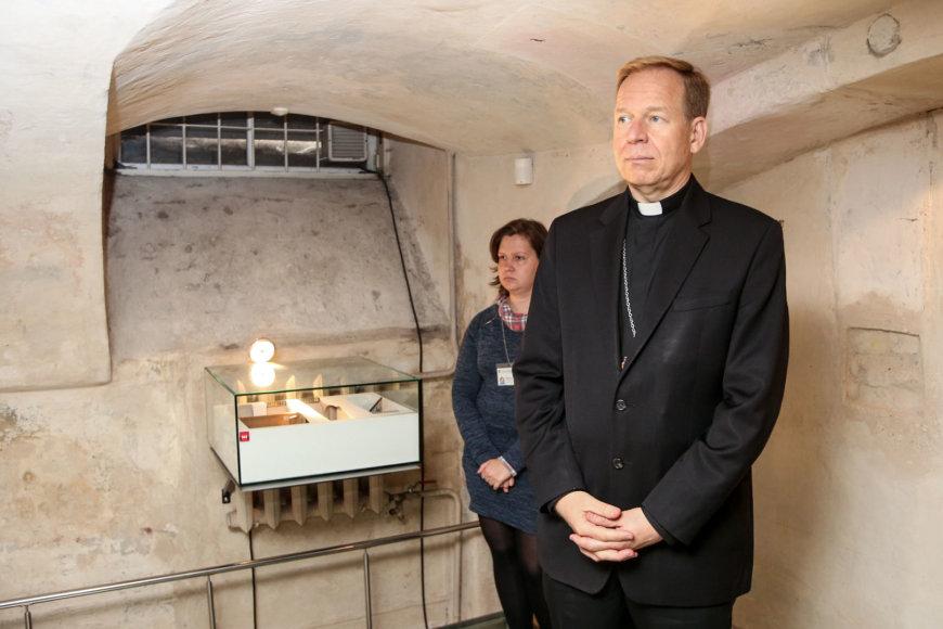 Vidmanto Balkūno / 15min nuotr./Gintaras Grušas Genocido aukų muziejuje