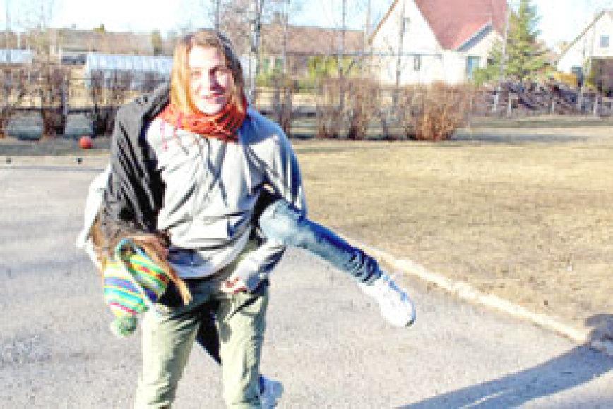 Fanny Eriksson pamėgo Biržus ir Lietuvą