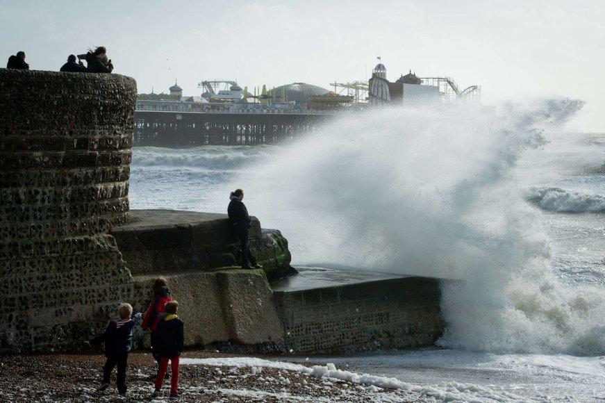 Bangos pietų Anglijos pakrantėje