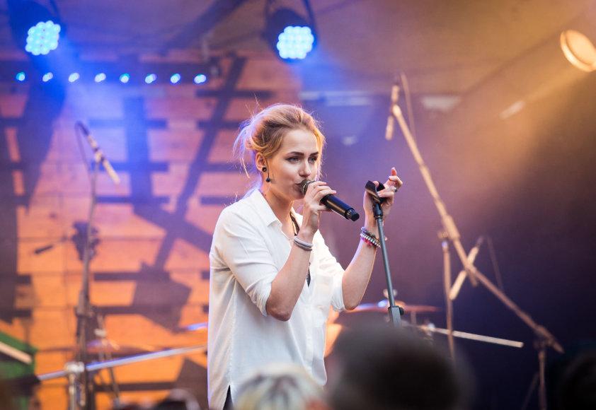 GJan koncerto Vilniuje akimirka