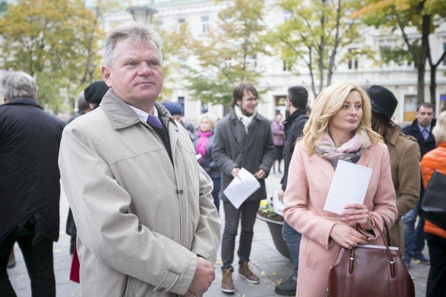 Jaroslavas Narkevičius ir Rita Tamašunienė