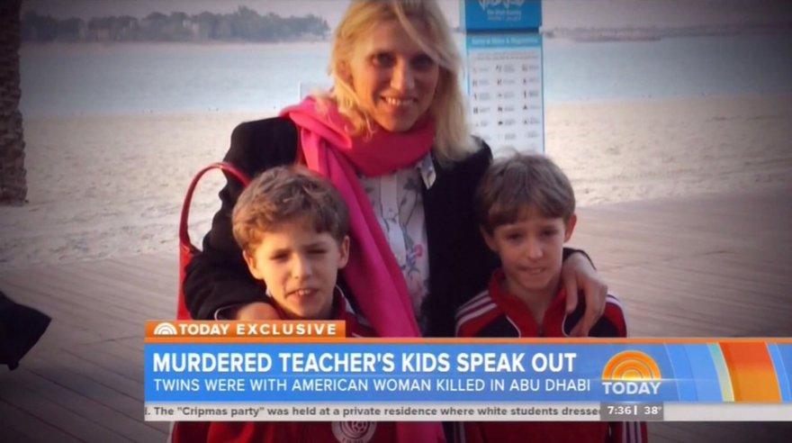 Ibolya Ryan su vaikais.