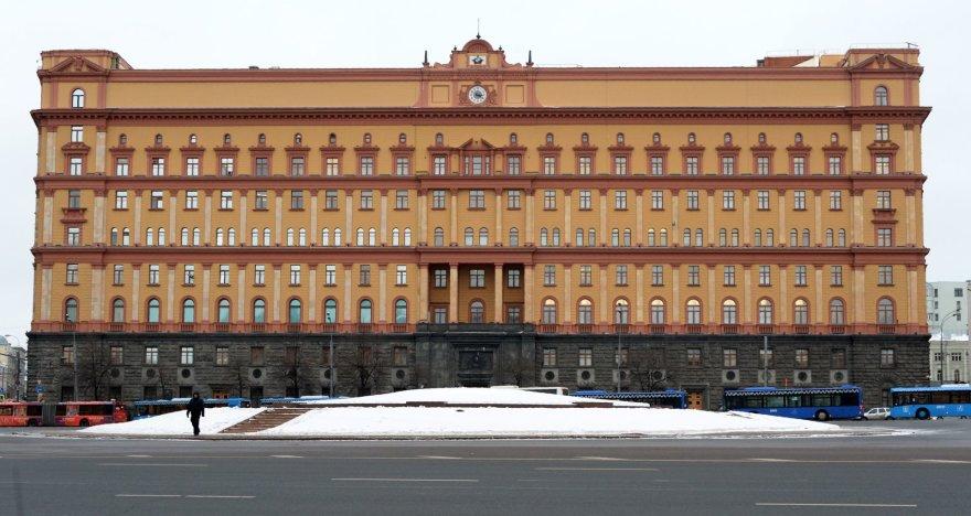 FSB būstinė Maskvoje