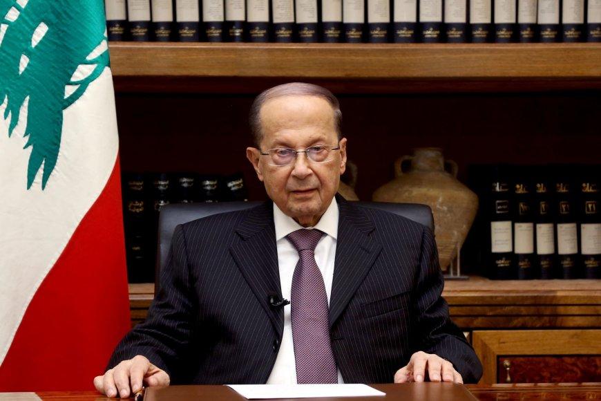 Libano prezidentas Michelis Aounas