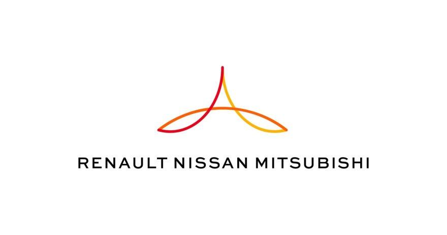 """""""Renault Nissan Mitsubishi"""" aljanso logotipas"""
