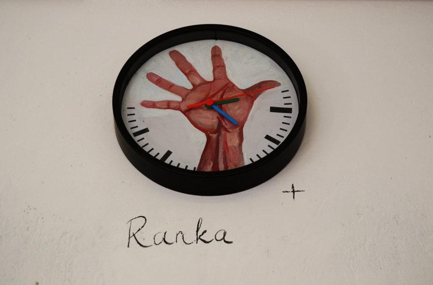 """Mindaugo Skudučio paroda """"Laikrodžiai"""""""
