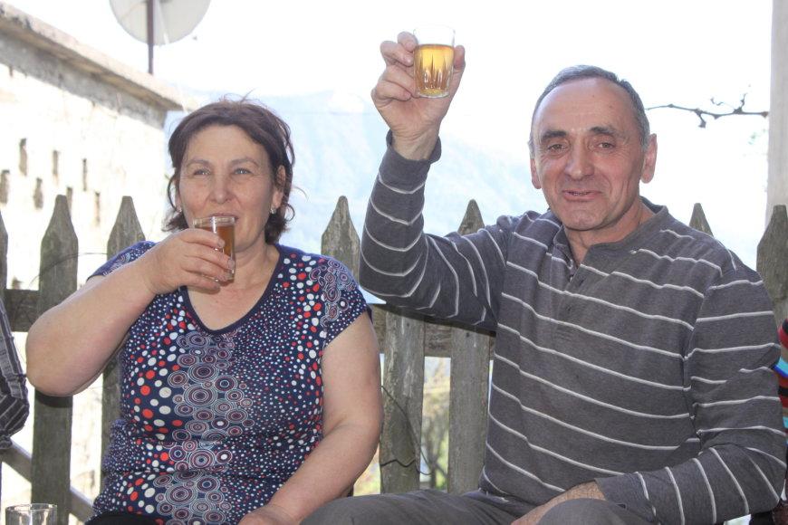 Savo žmoną Z.Bolkvadze sako radęs pakalnėje – už 80 km nuo savo sodybos kalnuose
