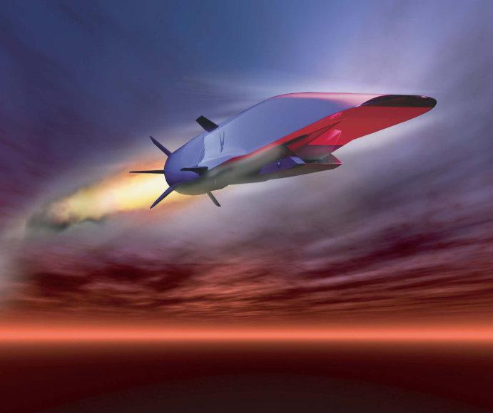 "Lėktuvo ""Boeing X-51"" koncepcija"