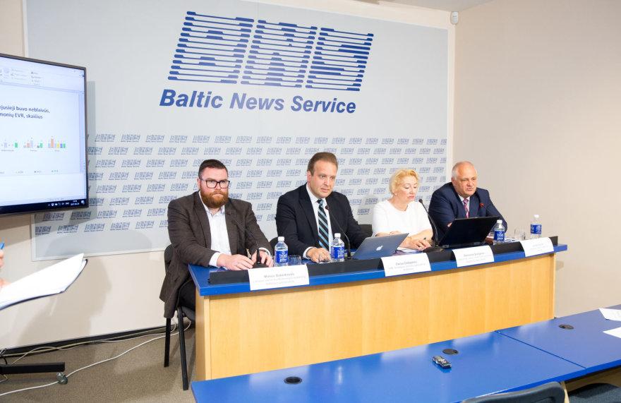Valstybinės darbo inspekcijos spaudos konferencija