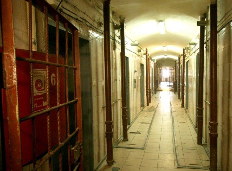 Šiaulių tardymo izoliatoriaus koridorius