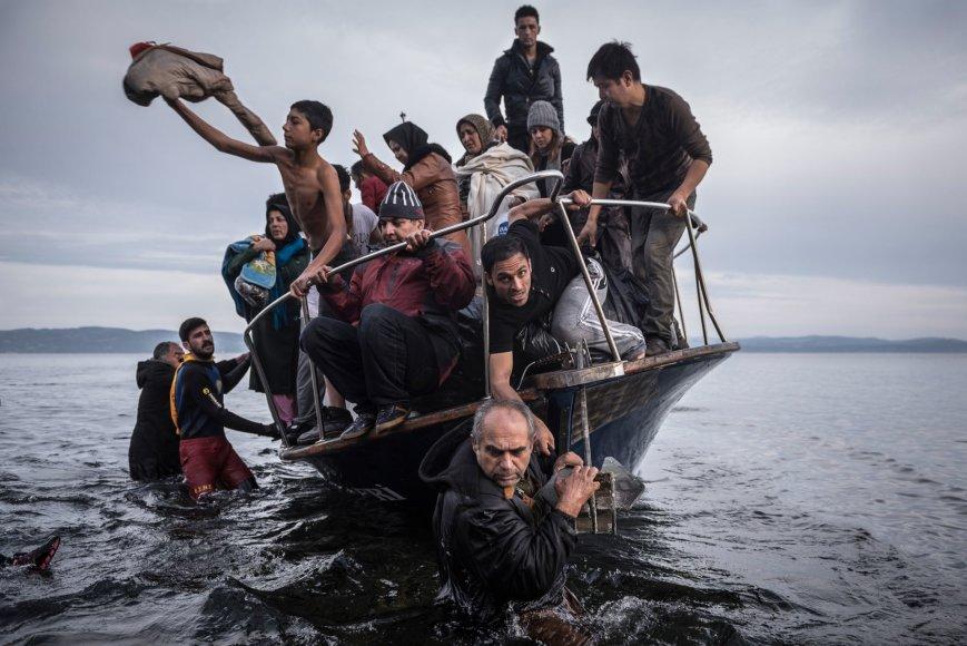 Sergejaus Ponomariovo užfiksuoti pabėgėliai
