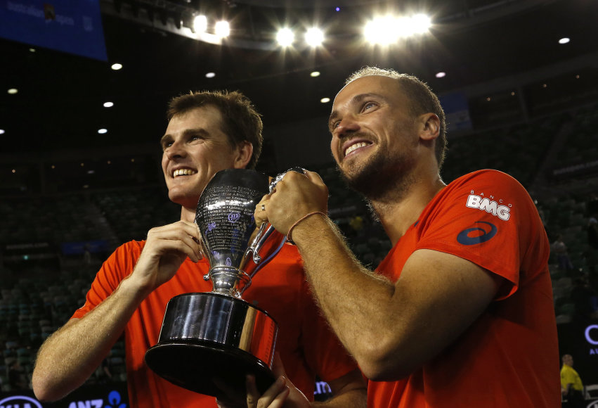 Jamie Murray ir Bruno Soaresas
