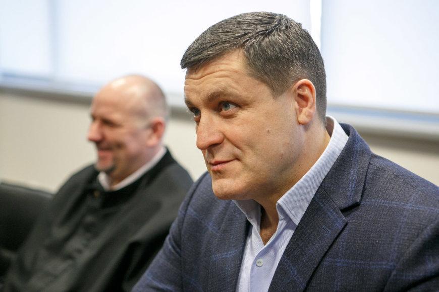 Eriko Ovčarenko / 15min nuotr./Arūnas Pukelis apie problemas Baltarusijoje kalba su šypsena