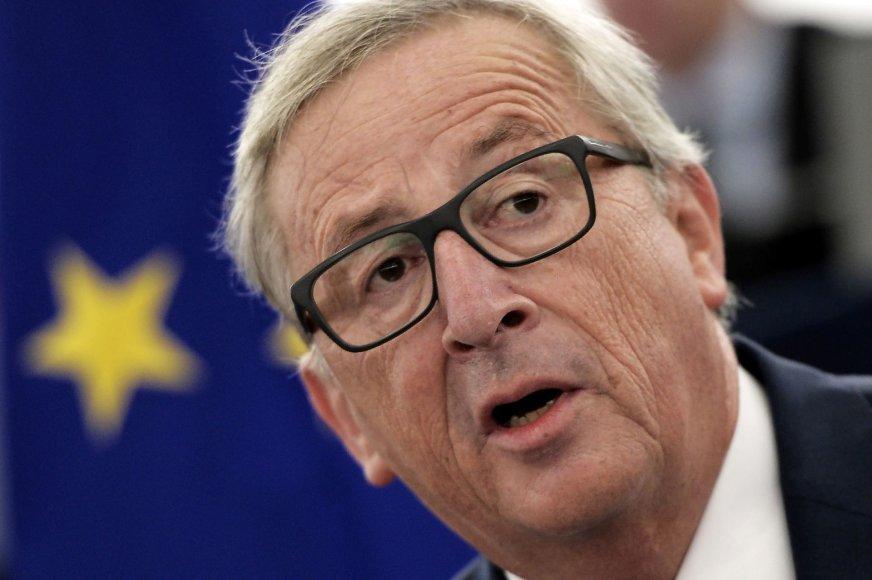 Europos Komisijos vadovas Jeanas-Claude'as Junckeris