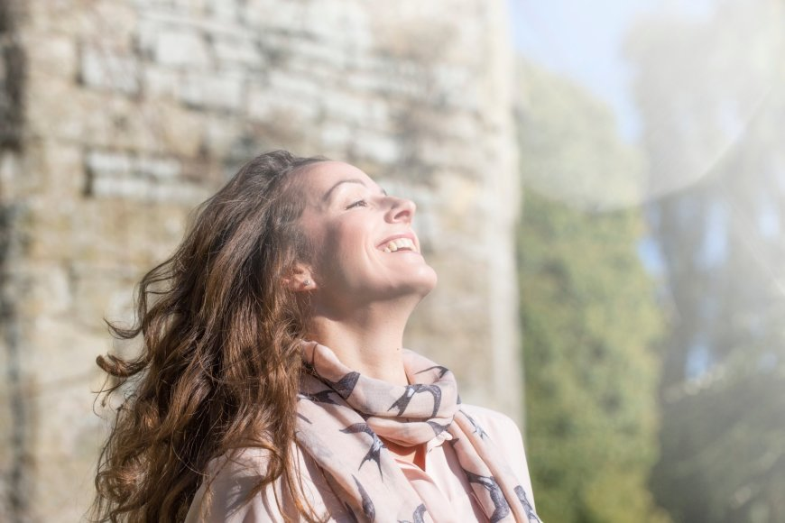 Vida Press nuotr./Laiminga moteris