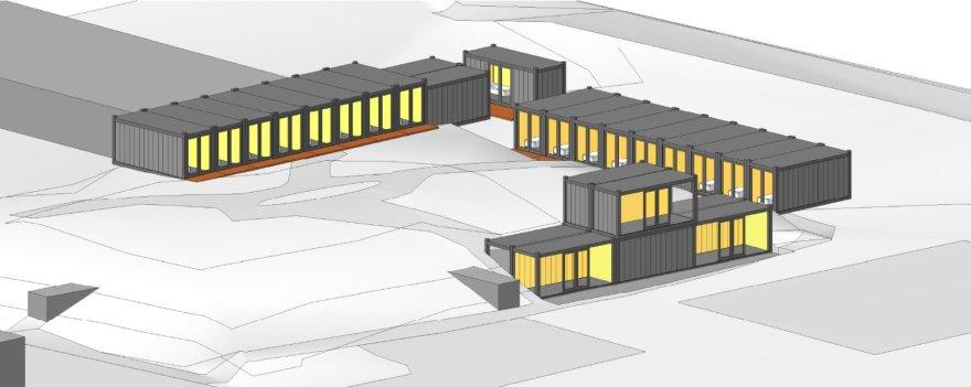 Nakvynės namai bus statomi iš modulių.