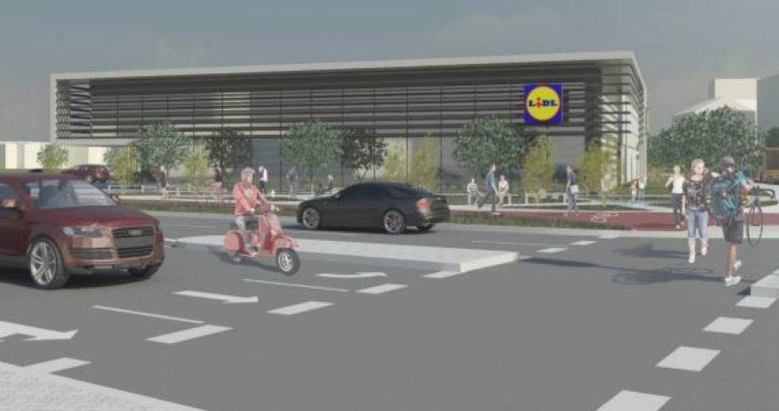 """""""Lidl"""" planuoja dar vieną parduotuvę sostinės Rinktinės gatvėje"""