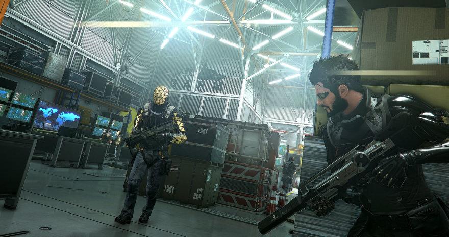 """Kompiuterinis žaidimas """"Deus Ex"""""""