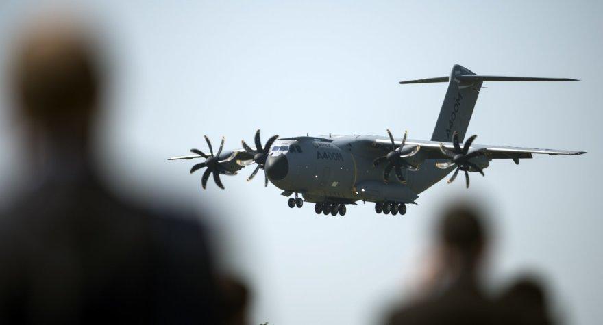 """Prie Sevilijos nukrito karinis lėktuvas """"Airbus A400 M"""""""