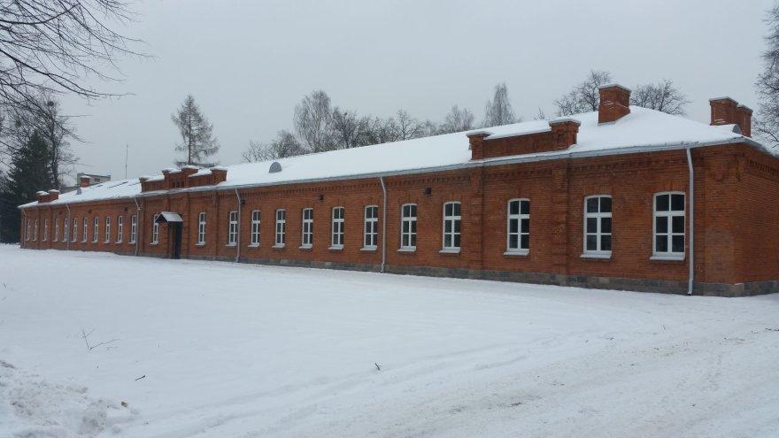 Panemunės kareivinių ir Karo mokyklos komplekso pastatas
