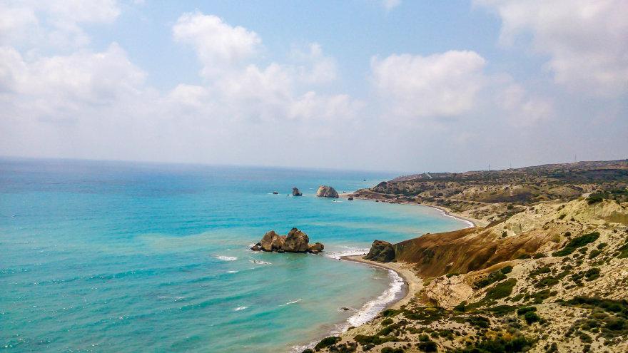 Deivės Afroditės gimimo vieta pakeliui į Paphos miestą