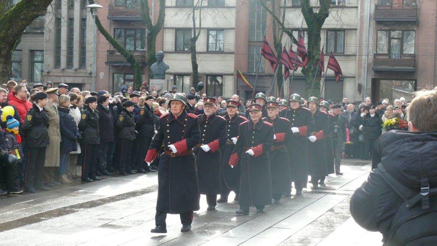 Vėliavos pakėlimo ceremonija