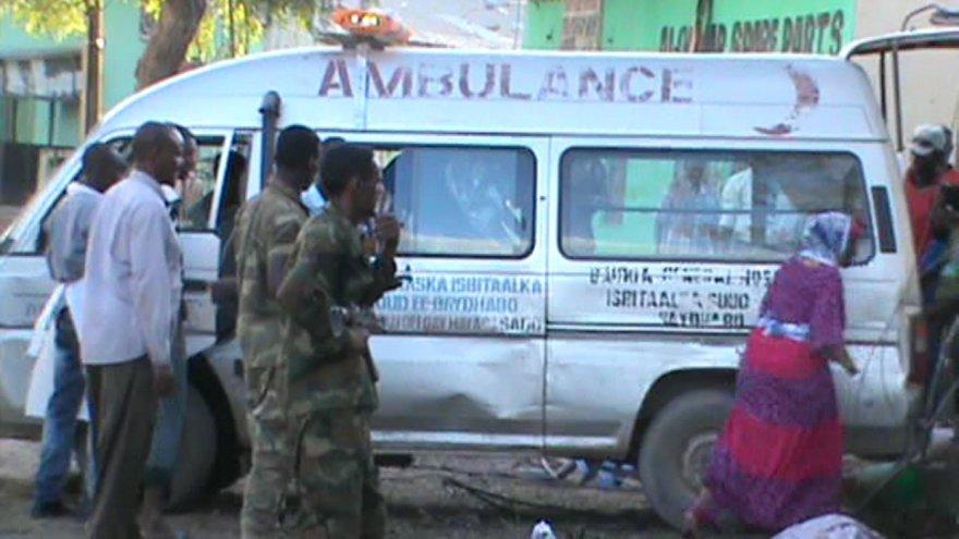 Greitosios pagalbos automobilis Somalyje
