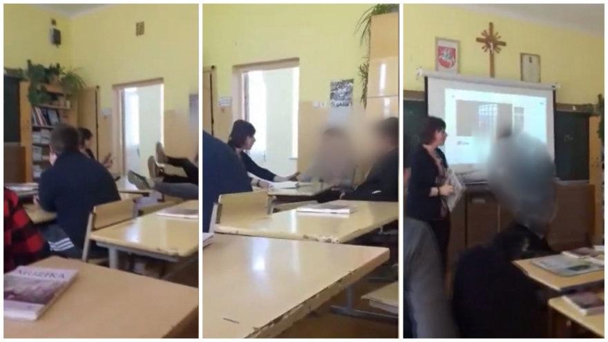 Mokytoją stumdanti paauglė Kuršėnuose