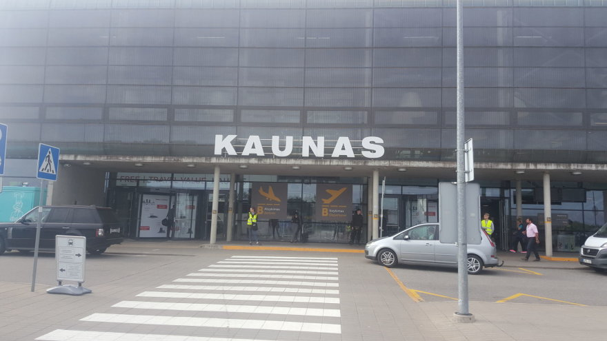 Kauno oro uoste papildomas klientų antplūdis problemų nesukėlė